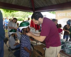 """Lids for Kids"" provided 496 Grand Rapids area kids with free bike helmets"
