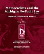 Motorcycle and the Michigan No-Fault Law Brochure