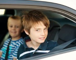What Are The Seat Belt Rules For Kids Riding In The Back?