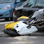 Motorcycle Accident with Car