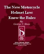 The New Motorcycle Helmet Law Brochure